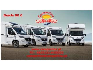 Camperline , aluguer de auto-caravanas