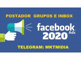 Promova Seu Trabalho Automatico No Facebook Grupos e Inbox