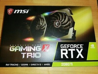 Vende-se MSI Rtx 2080Ti 11GB X Trio