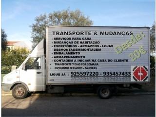 Transportes e Mudanças Setúbal 925597220 Almada