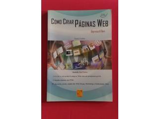 """Livro """"Como criar paginas web"""""""