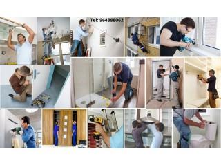 Instalações, Montagem móveis, aparelhos ou qualquer equipamento!