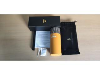 Caixa Charutos com Humidificador e Higrómetro Madeira Cedro