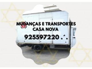 Serviços de Mudanças e Transportes Casa Nova 925597220 .´.