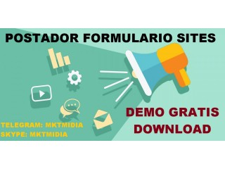 Software Divulgador Formularios Sites Blogs - Download Gratuito