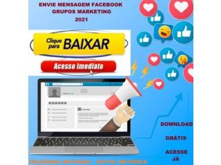 Software Envie Mensagem No Facebook Grupos 2021 - Download Gratuito
