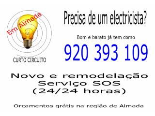 PRECISA DE UM ELECTRICISTA?