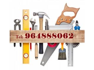 Pedreiro, Ladrilhador, Canalizador, Pintor, . Remodelação e Manutenção