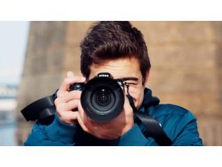 Faço sessões fotográficas