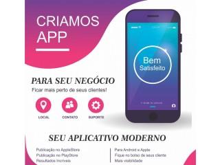 Criamos aplicativos para seu negócio! Criamos App